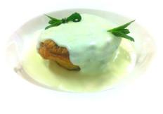 tortino di zucchine con salsa di taleggio e menta - www.boeucc-saronno.it - Ristorante Boeucc Saronno