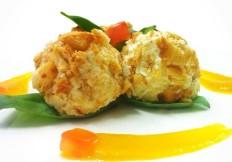 Rocher di caprino con salsa  di zucca - www.boeucc-saronno.it - Ristorante Boeucc Saronno