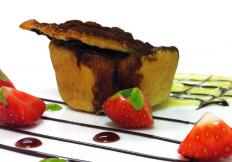 Tortino cioccolato e pere - www.boeucc-saronno.it - Ristorante Boeucc Saronno